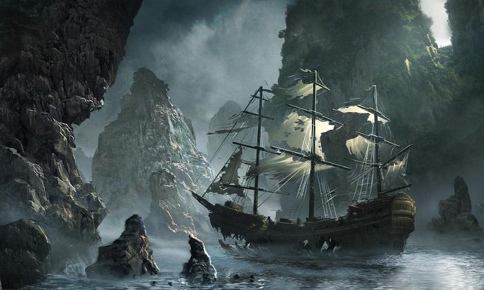 Corabie fantoma
