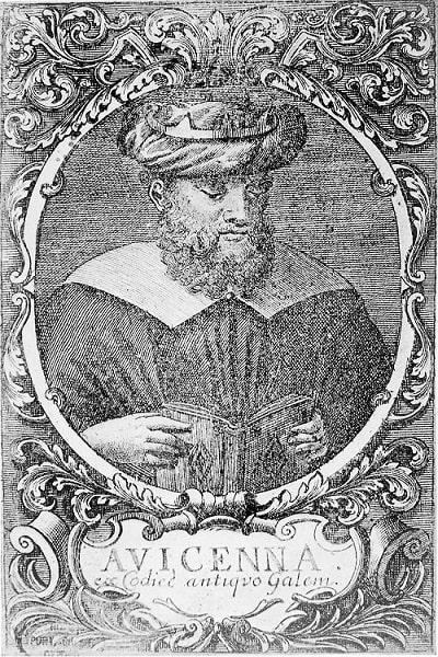 Portret Abu-Ali al Husein ibn Sina (Avicenna)