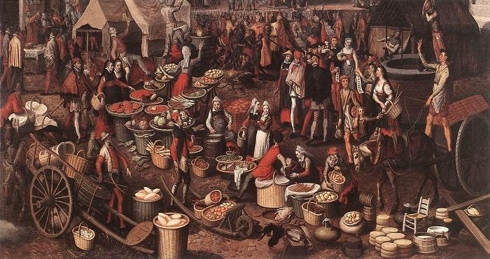 Piata din Evul Mediu