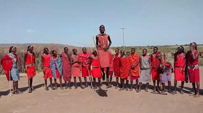 Tribul Massai (Kenya)