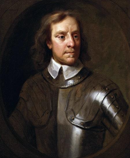 Oliver Cromwell - Tablou de Samuel Cooper