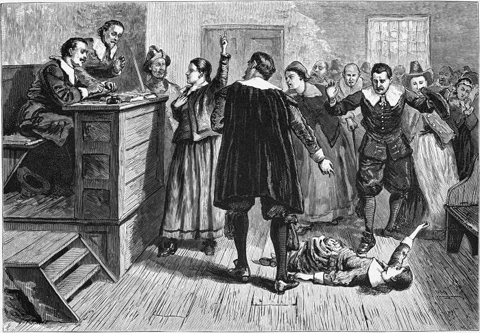 Procesul unei vrăjitoare din orașul Salem
