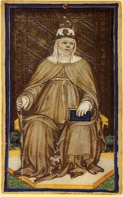 Ioana devenită Papă
