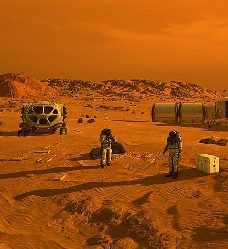 Oamenii ar putea crea atmosfera pe Marte