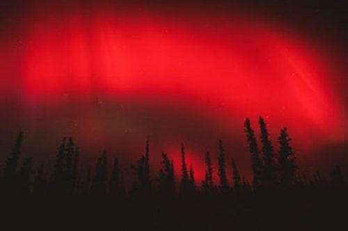 Aurora Boreala rosie