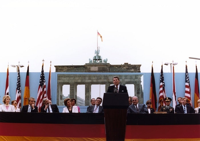 Discursul lui Ronald Reagan in Berlin