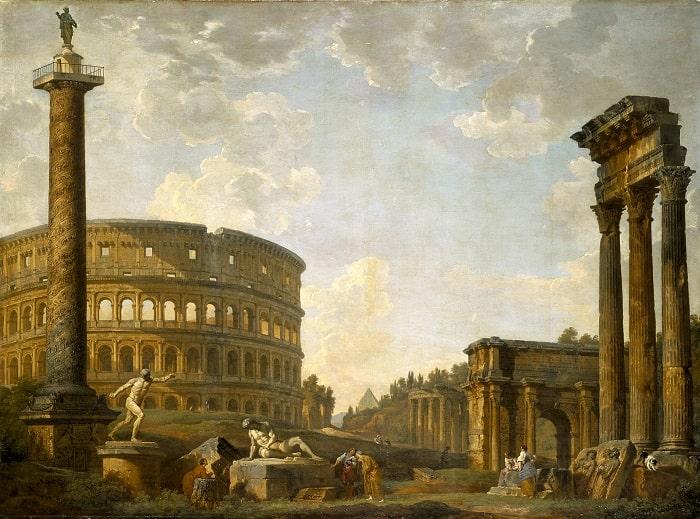 Tablou Colosseum (Panini - sec XVIII)