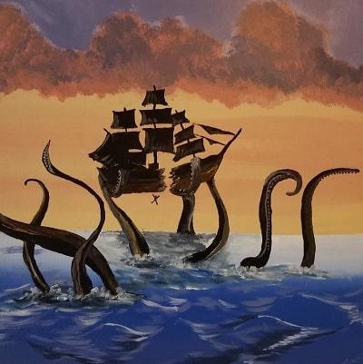 Krakenul - Intre legenda si adevar