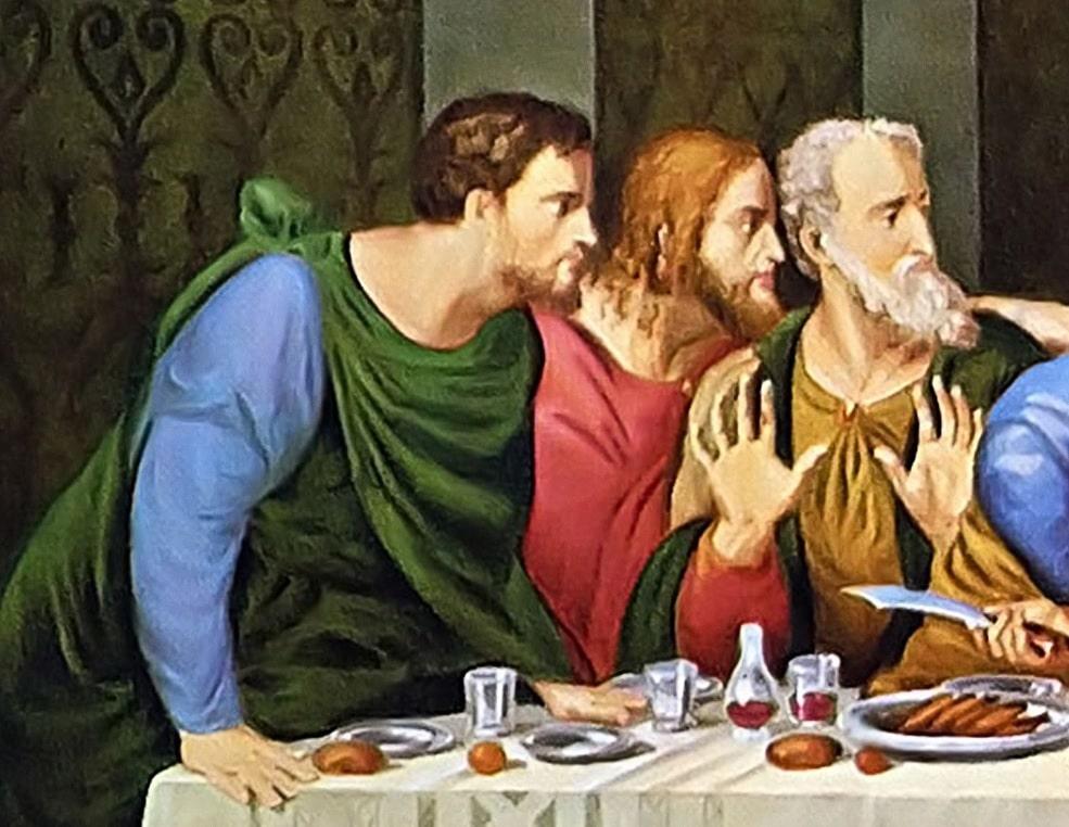 Apostolii Bartolomeu, Iacob cel Tanar si Andrei