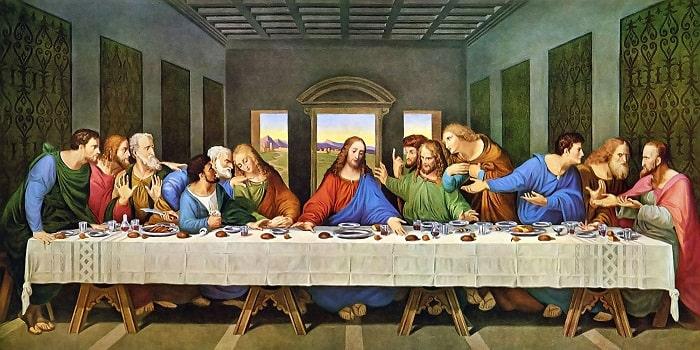 Cina cea de Taina (Leonardo Da Vinci)