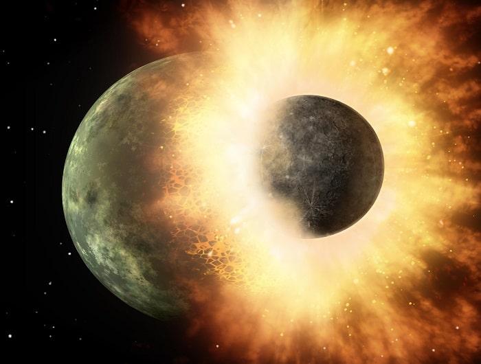 Ciocnirea Pământului cu un corp ceresc de mari dimensiuni