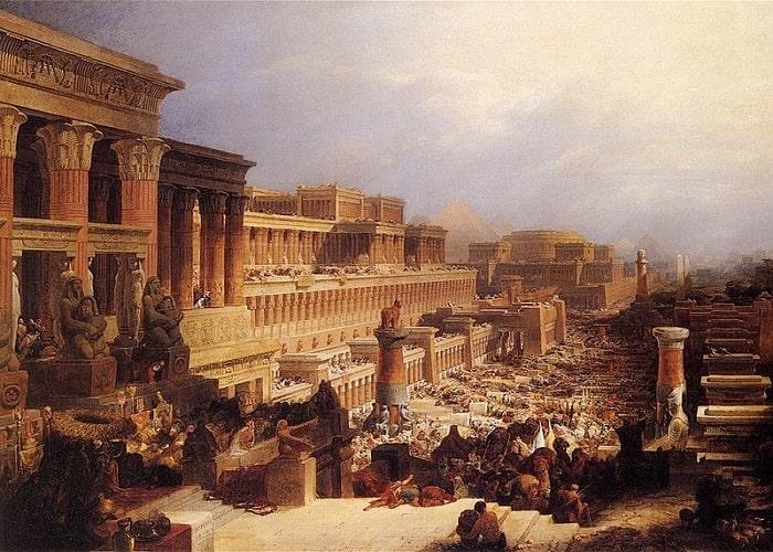 Cartea exodului: Plecarea israelitilor