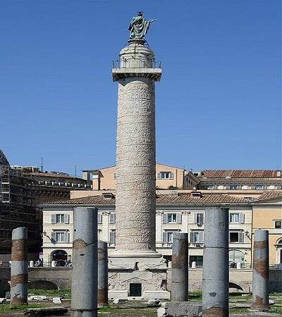 Columna lui Traian - Scopul constructiei acesteia