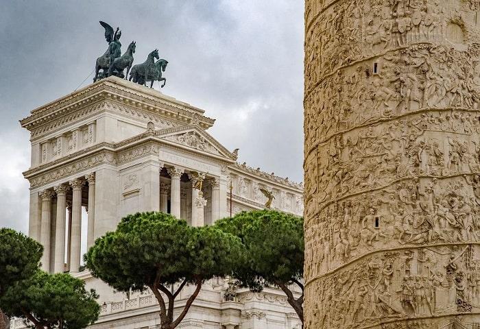 Columna lui Traian (lateral)
