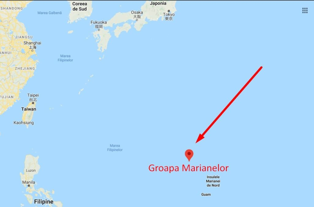Harta Groapa Marianelor