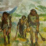 Oamenii primitivi pictau modern