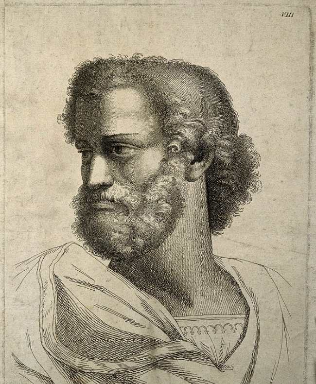 Aristotel (portret de  P. Fidanza )