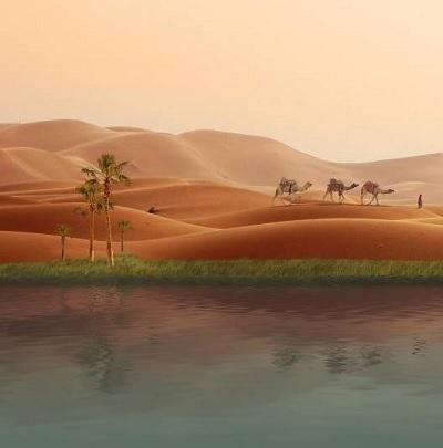 Sahara a fost înverzită și… locuită