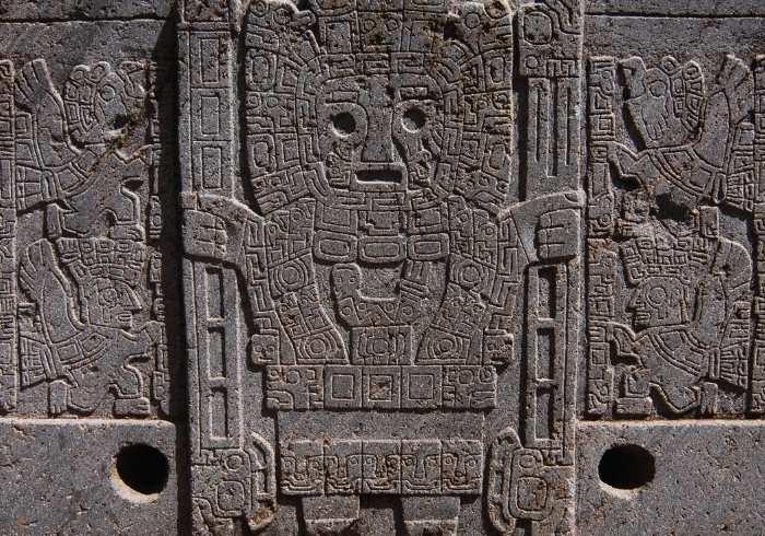 Zid - gravură din Tihuanaco
