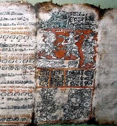 Istoria enigmatică a codicelor mayase