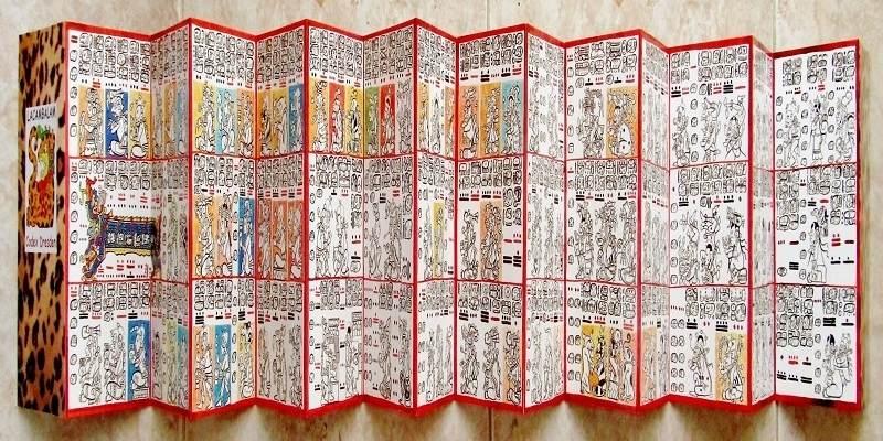 Codicele mayase din Dresda