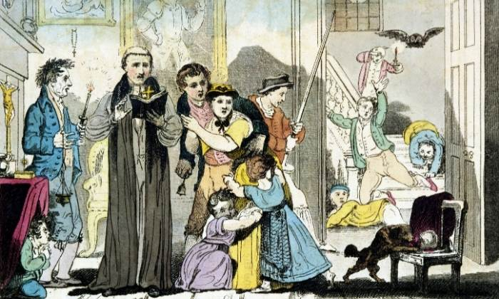 Ritual de exorcizare intr-o familie din secolul al XVIII-lea