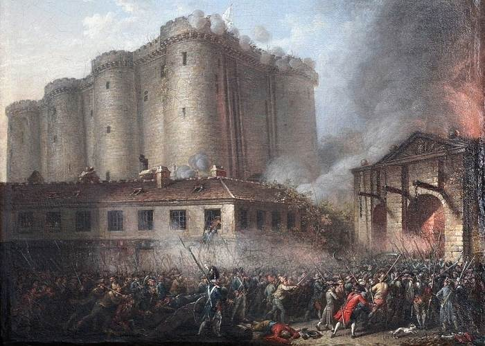 Căderea Bastiliei (tablou 1789-1791)
