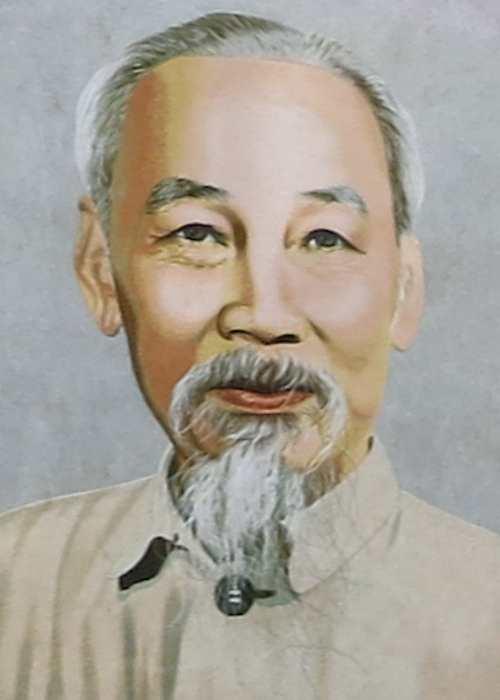 Liderul comunist nord-vietnamez Ho Chi Minh