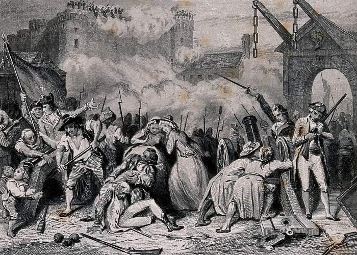 Luarea cu asalt a Bastiliei (14-iulie 1789)