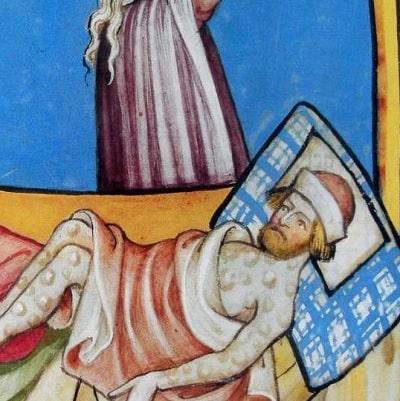 Moartea Neagra si Ciuma Bubonica - Doua boli diferite