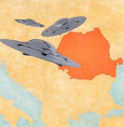 OZN-uri în Țările Române