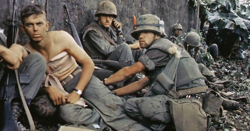 Soldati americani în Razboiul din Vietnam