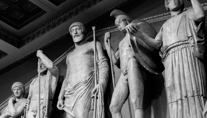 Sculpturi ale zeilor greci