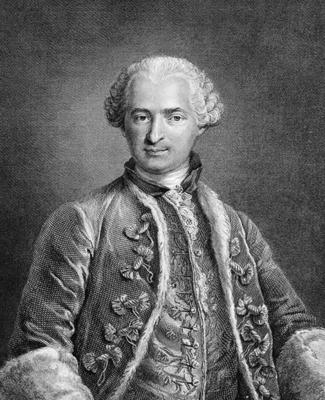 Contele de Saint Germain (1710-1784)