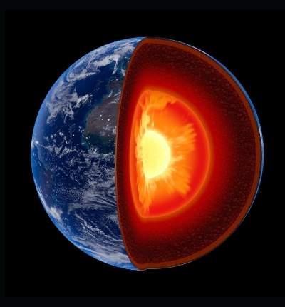 Pământul are o inimă care se... învârtește