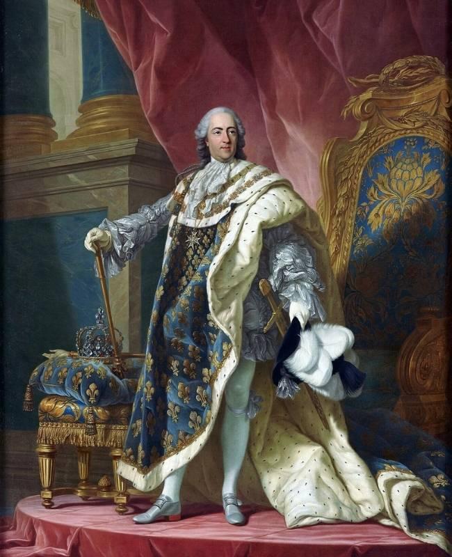 Ludovic al XV-lea al Frantei (1710-1774)