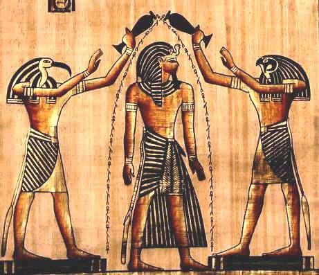 Ritual de purificare al faraonului