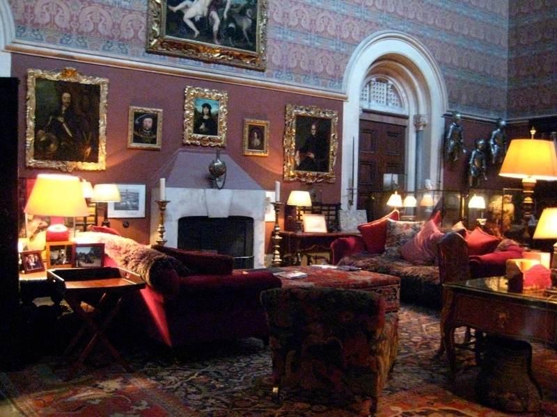 Cameră din interiorul castelului Eastnor