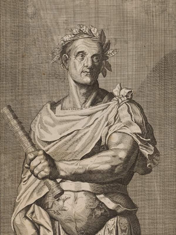 Iulius Cezar (desen de A. Sadeler)