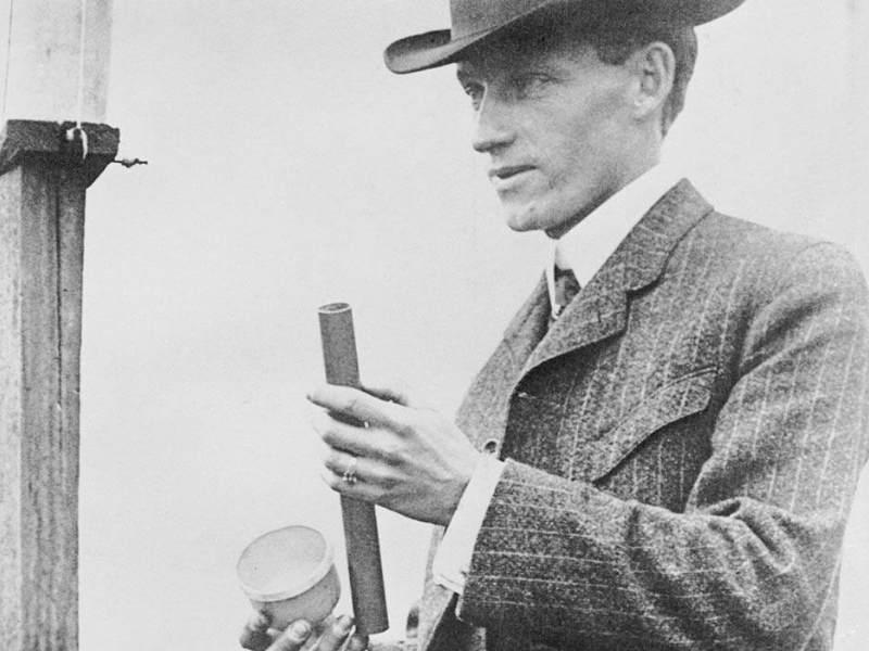 Charles Hatfield - poză din San Diego, 1915