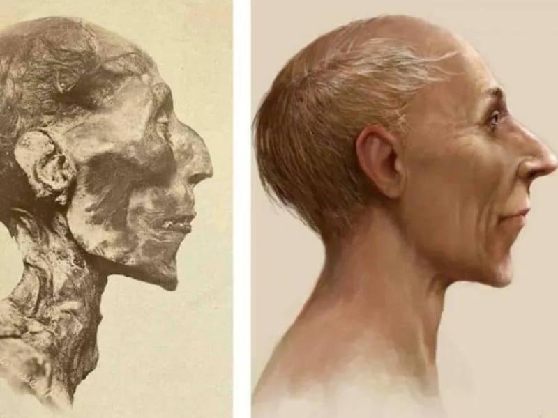 Asa arata Ramses al II-lea dupa reconstructie
