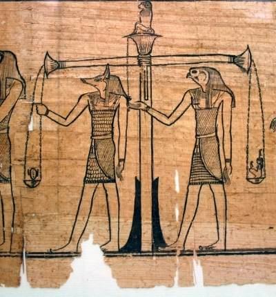 Cartea Morților din mitologia egipteană