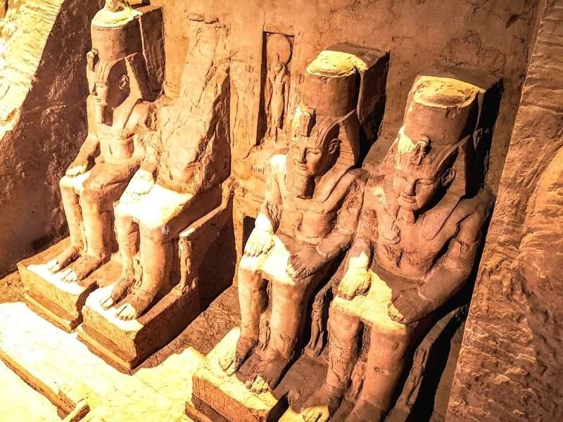 statui din Egiptul Antic