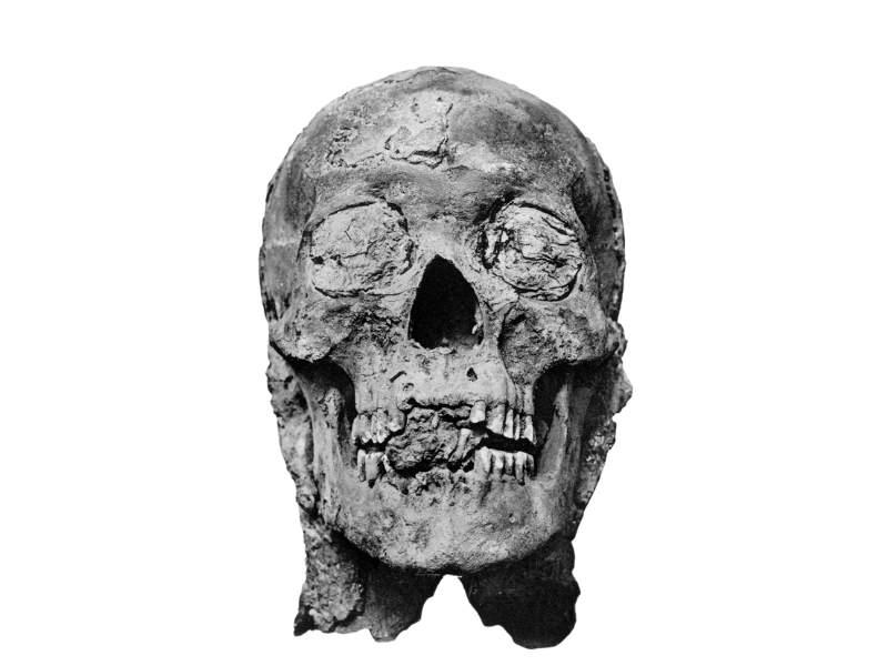 Mumia lui Amenhotep al III-lea