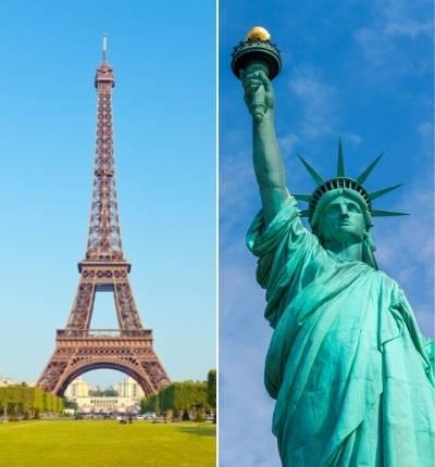 Turnul Eiffel si Statuia Libertății au Același Constructor