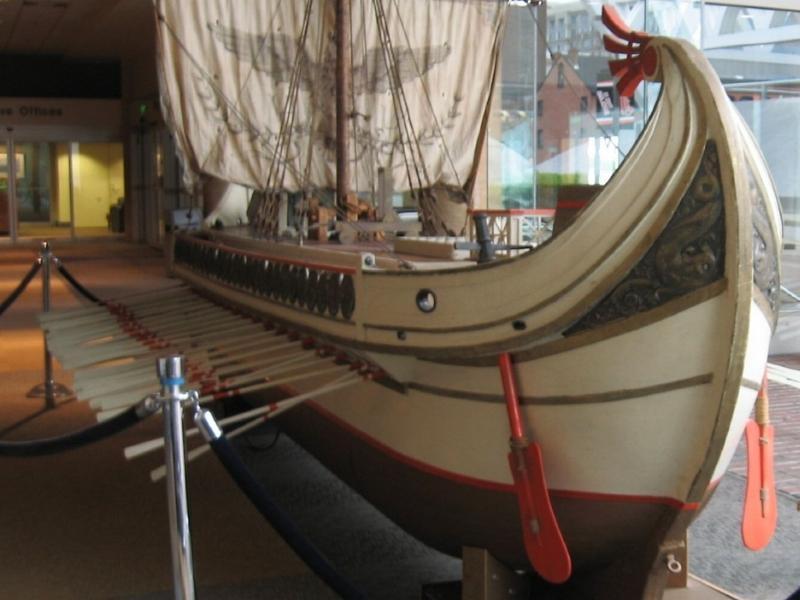 Model de corabie romană